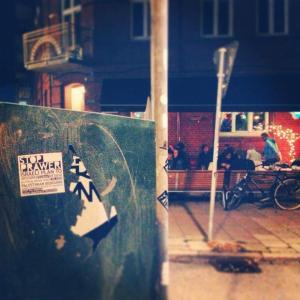 Stop Prawer sticker in Sweden. by Bashar Lubbad